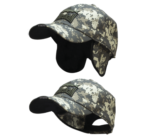 Winter Cap Led Camo (with LED light)