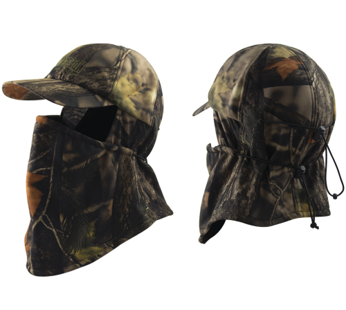 Camo Cap with Face Mask