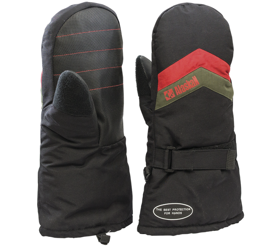 Insulated Mittens Snow Fox