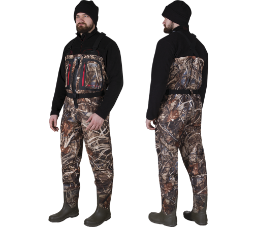 WADERS JEEP HUNTER ZIP (with boots)